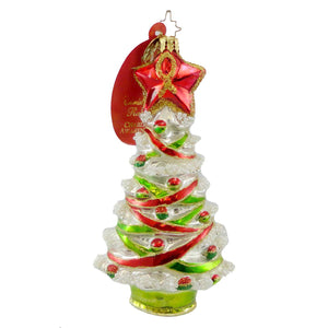 Christopher Radko Proud Tannenbaum Glass Ornament