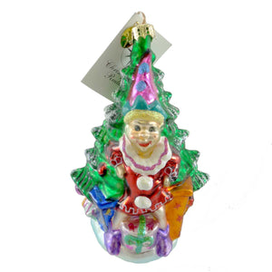 Christopher Radko Elmsford The Elf Glass Ornament