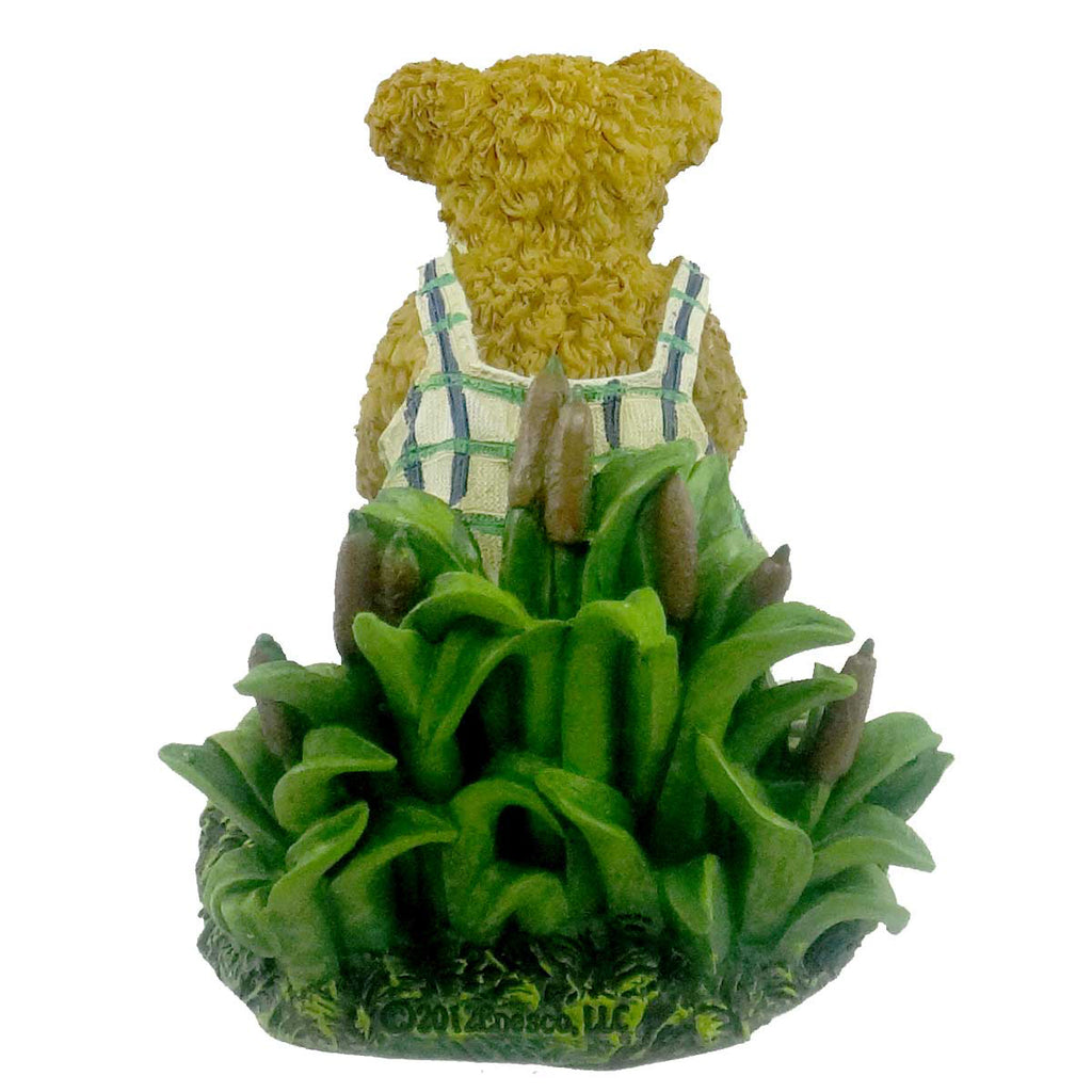 Boyds Bears Resin Billy Goodfriend W/ Lil Ribbit Figurine