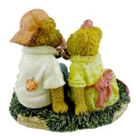 Boyds Bears Resin Ben And Edy Sugarbeary Summer Figurine