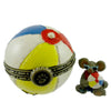 Boyds Bears Resin Gidget's Beachball With Shades Treasure Box