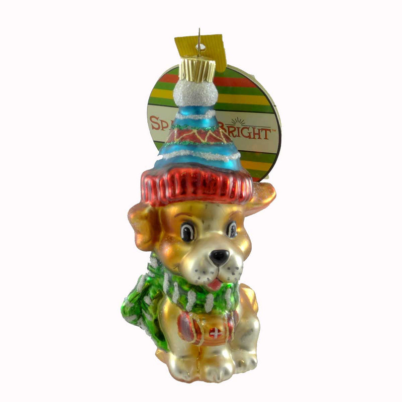 Christopher Radko To The Rescue Glass Ornament