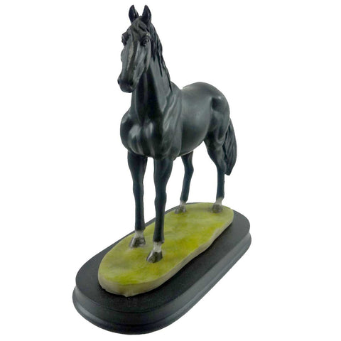 Animal Black Horse Figurine 18416