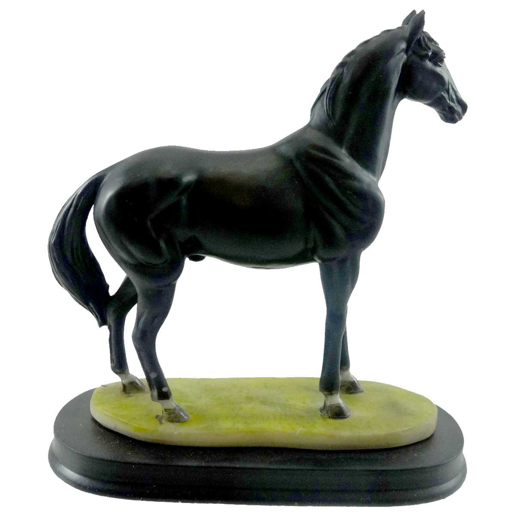 Animal Black Horse Figurine