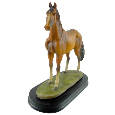 Animal Horse Lite Brown Figurine 18418