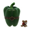 Boyds Bears Resin Belle's Pepper W/Hottie McNibble Treasure Box