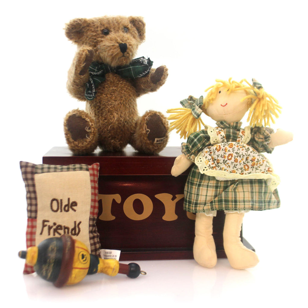 Boyds Bears Plush Toy Box Of Friendship Memories Teddy Bear