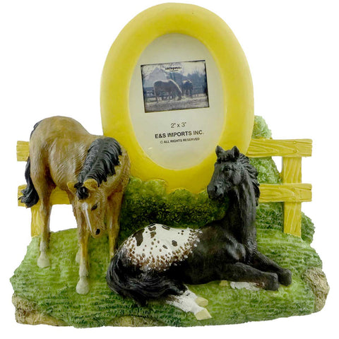 Animal BUDDIES HORSE FRAME Resin Picture Frame 353228 18517