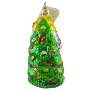 Christopher Radko Christmas Joy Glass Ornament