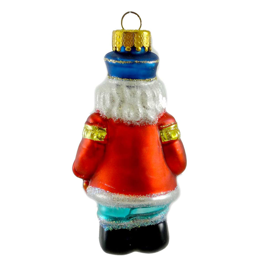 Holiday Ornament Christmas Soldier Glass Ornament