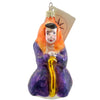 Christopher Radko Witch Way Halloween Glass Ornament