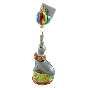 Christopher Radko On The Nose Glass Ornament