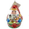 Christopher Radko Santa's Favorites Glass Ornament