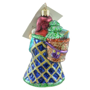 Christopher Radko Petite Noel Splendor Glass Ornament