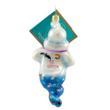 Christopher Radko 2 Cute Halloween Glass Ornament