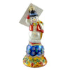 Christopher Radko Frosty Chime Glass Ornament