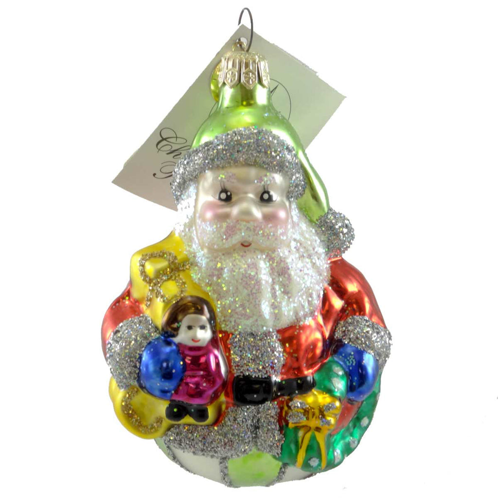 Christopher Radko Jolly Roller Glass Ornament