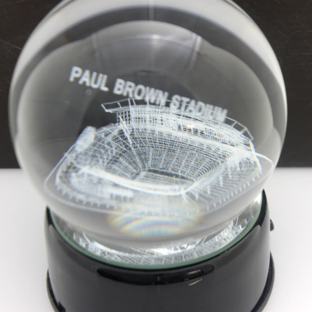 Sports Paul Brown Stadium Crystal Ball Tabletop