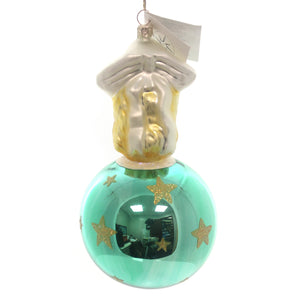 Christopher Radko Max & Greta Starglow Glass Ornament