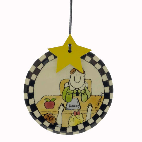 Personalized Ornaments Teacher Tile Personalized Ornament 20840