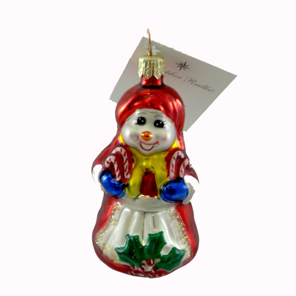 Christopher Radko Cool Couple Gem Glass Ornament