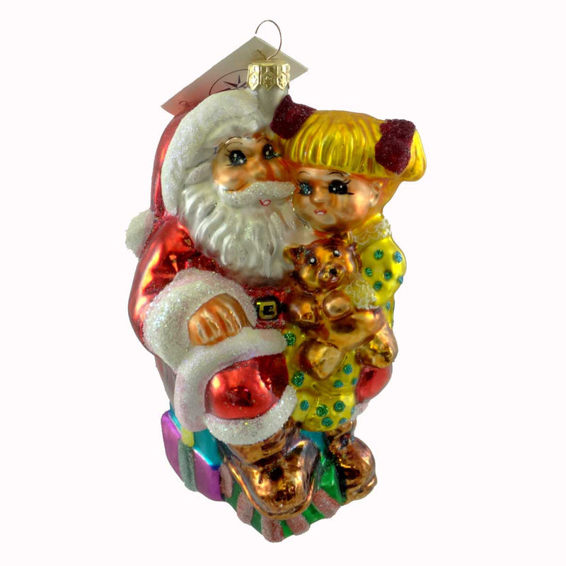 Christopher Radko Story Time Glass Ornament