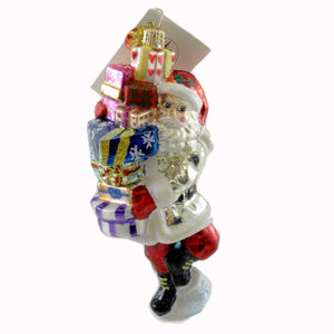 Christopher Radko Last Minute Shopper Glass Ornament