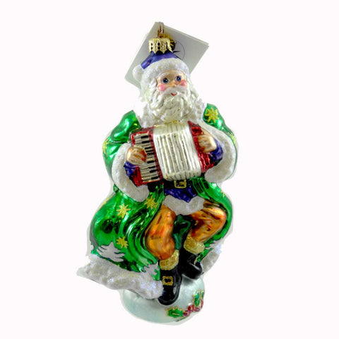Christopher Radko JOLLY JIG Glass Ornament 21121