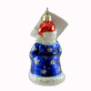 Christopher Radko Little Loot Santa Glass Ornament