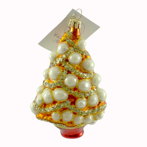 Christopher Radko Yules Jewels Glass Ornament