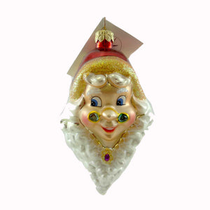 Christopher Radko Two's Company Glass Ornament