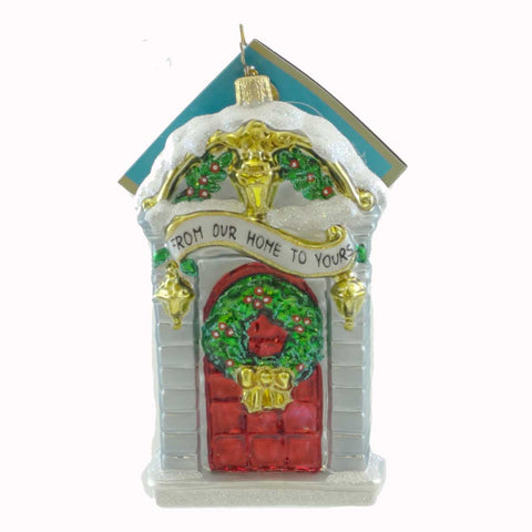 Christopher Radko Georgian Greetings Glass Ornament 21374