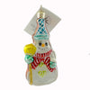 Christopher Radko Cookie Cut Frosty Glass Ornament