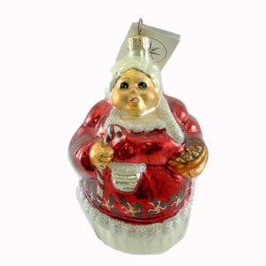 Christopher Radko The Clauses Glass Ornament