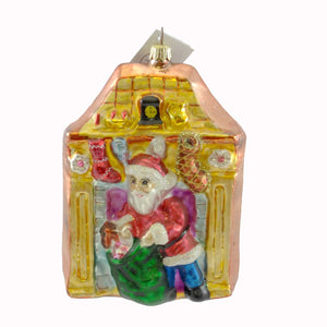 Christopher Radko Return Engagement Glass Ornament