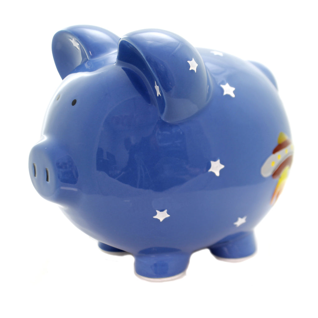 Bank ASTRO PIG PIGGY BANK Ceramic Personalize 3618
