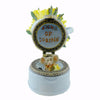 Boyds Bears Resin April's Bouquet With Sunny Mcnibble Treasure Box