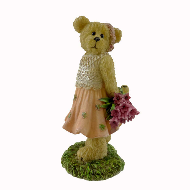 Boyds Bears Resin Heather Mcbearsley For The Love Of Ireland Figurine
