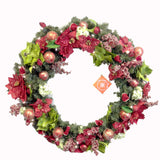 Christopher Radko Poinsettia Wreath Wreath
