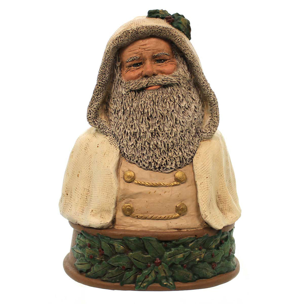 All Gods Children Father Christmas Bust White Figurine