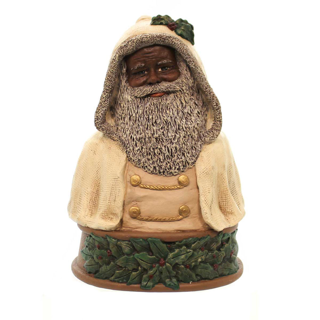 All Gods Children Father Christmas Bust Black Figurine