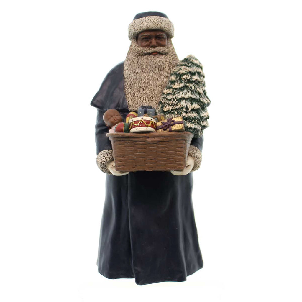 All Gods Children Father Christmas Black Figurine