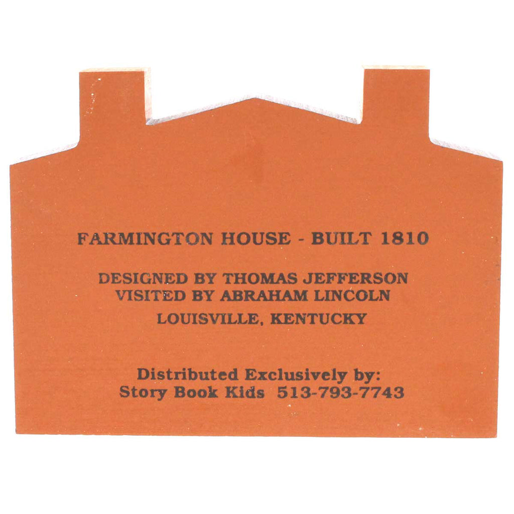 Cats Meow Farmington House Keepsake