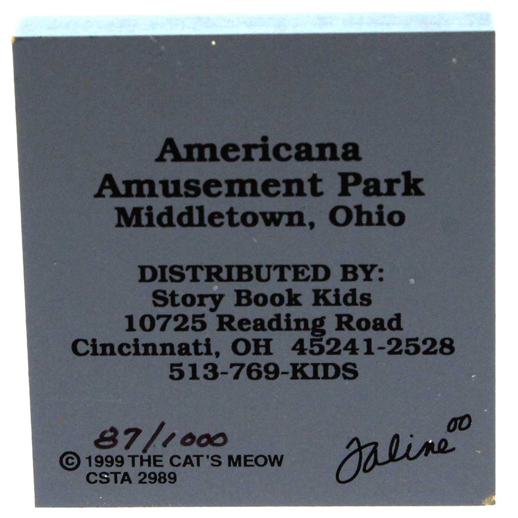 Cats Meow Americana Amusement Park Keepsake