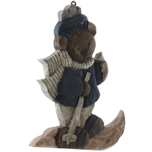 Boyds Bears Resin Skier Bear Figurine