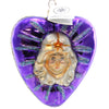 Christopher Radko Santa Heart Glass Ornament