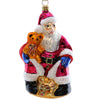 Christopher Radko Department Store Santa Glass Ornament