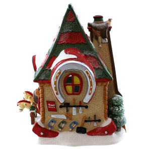 Dept 56 Buildings Hobby Horse Barn Village Lighted Building