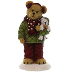 Boyds Bears Resin Haley Goodfriend With Berg Christmas Figurine