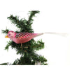 Old World Christmas Orchid Blossom Bird Glass Ornament